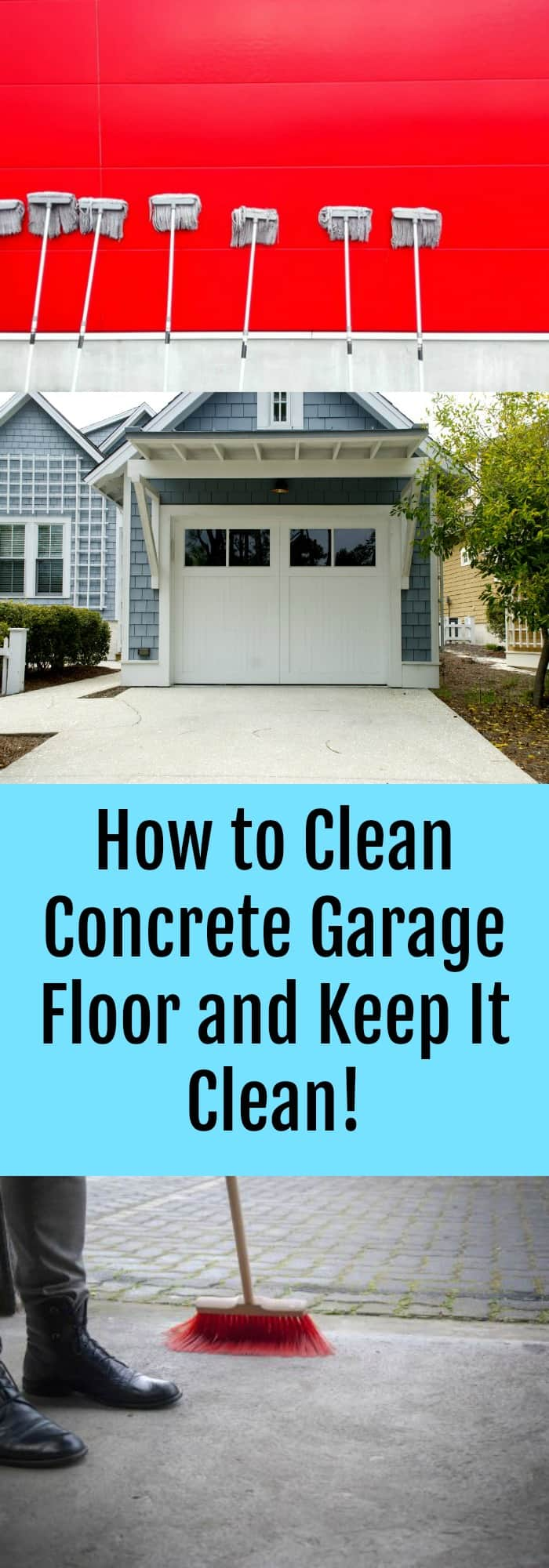 How to Clean Concrete Garage Floor and Keep It Clean