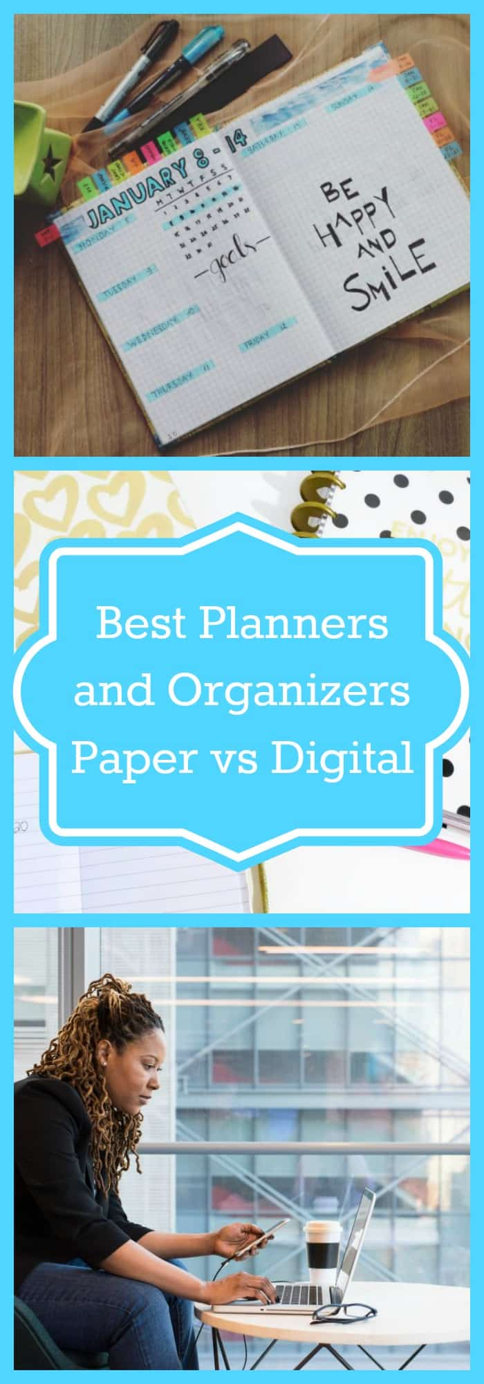 graphic regarding Digital Planners and Organizers named Suitable Planners and Organizers- Paper vs Electronic - The