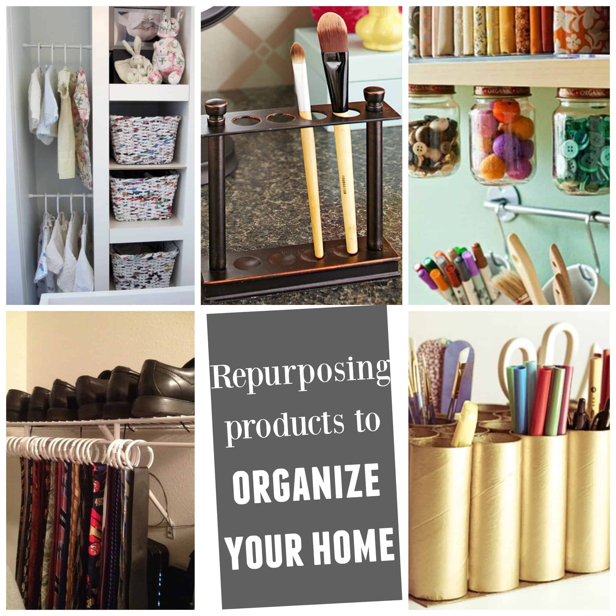 Think Outside The Toilet Paper Roll Repurposing Products To