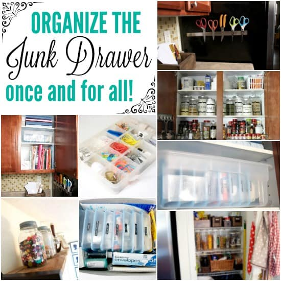 How to Organize Your Junk Drawer!