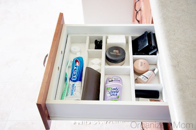 DIY drawer organizer - Home organization