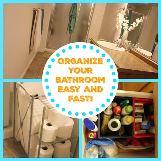 organize your bathroom