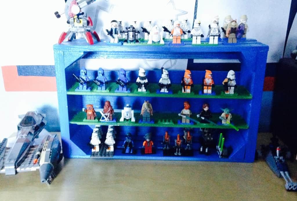 lego figures on display