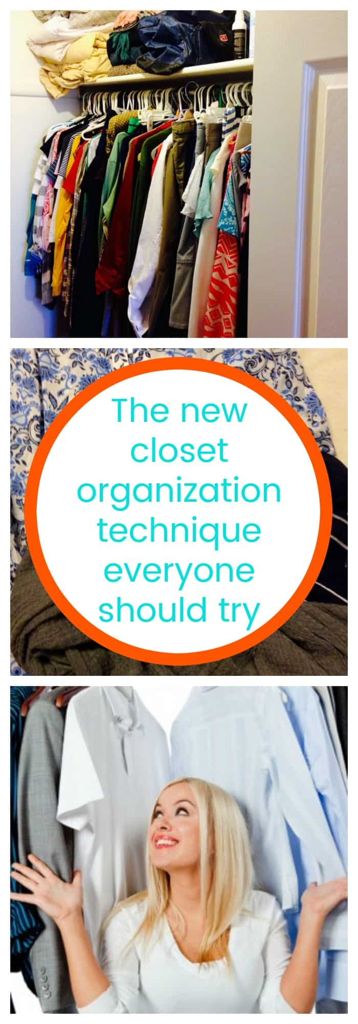Organization-The New Closet Organization Technique Everyone Should Try--The Organized Mom