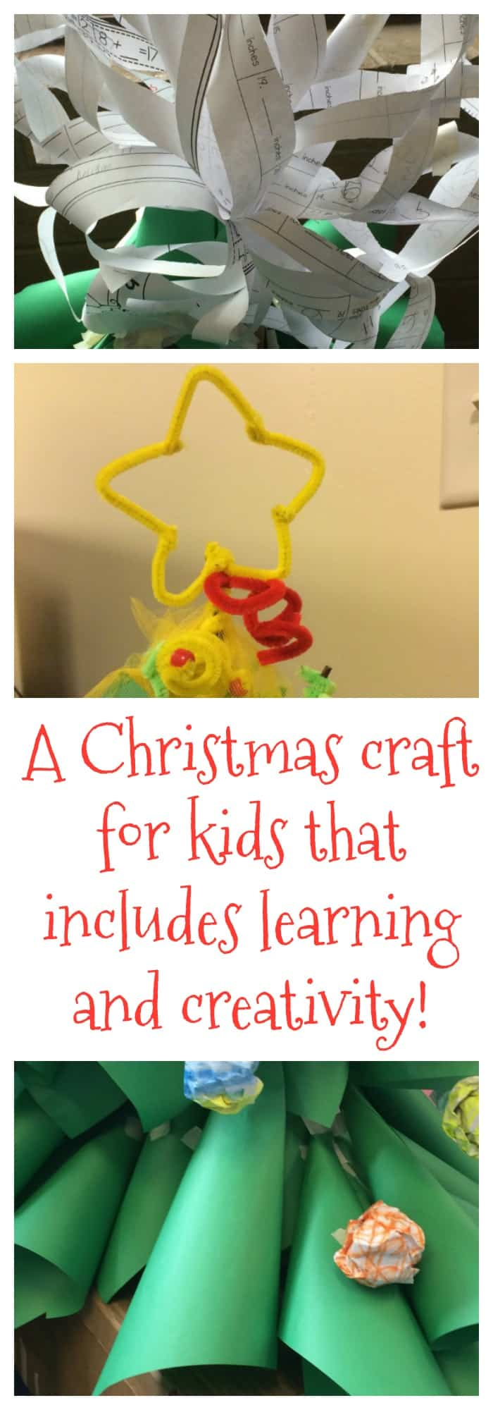 DIY and Crafts--A Christmas Craft for Kids that Includes Learning and Creativity--The Organized Mom