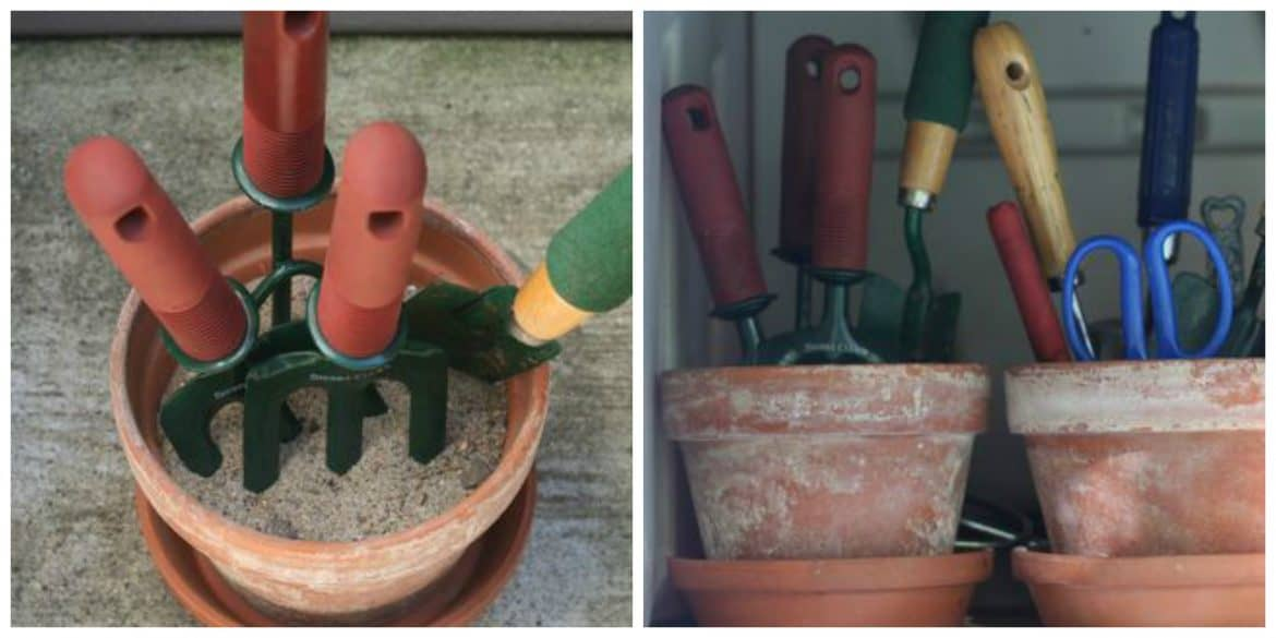 pot and small tool storage