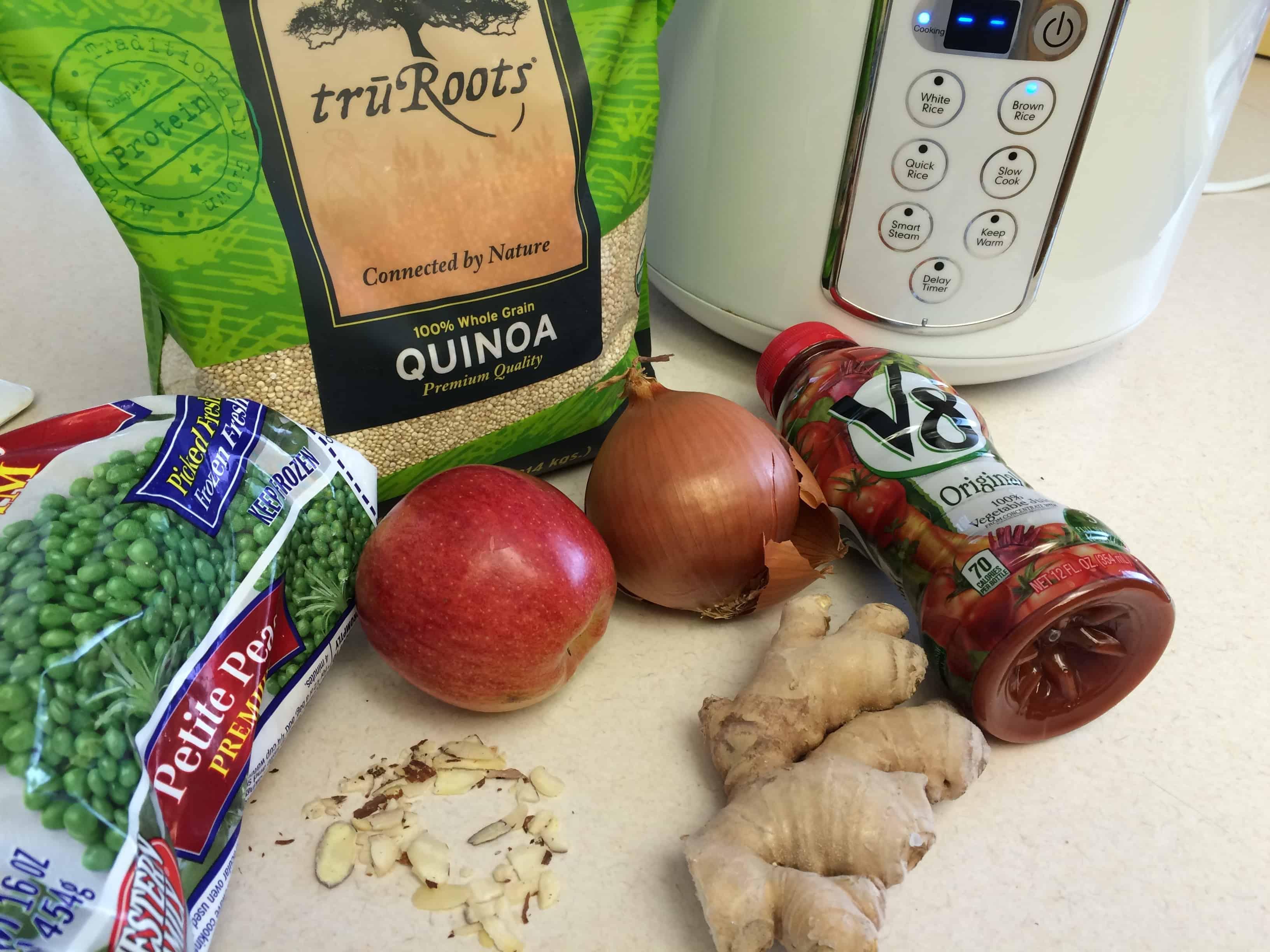 ingredients quinoa salad