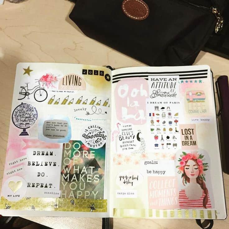 Simple Art Journal Ideas