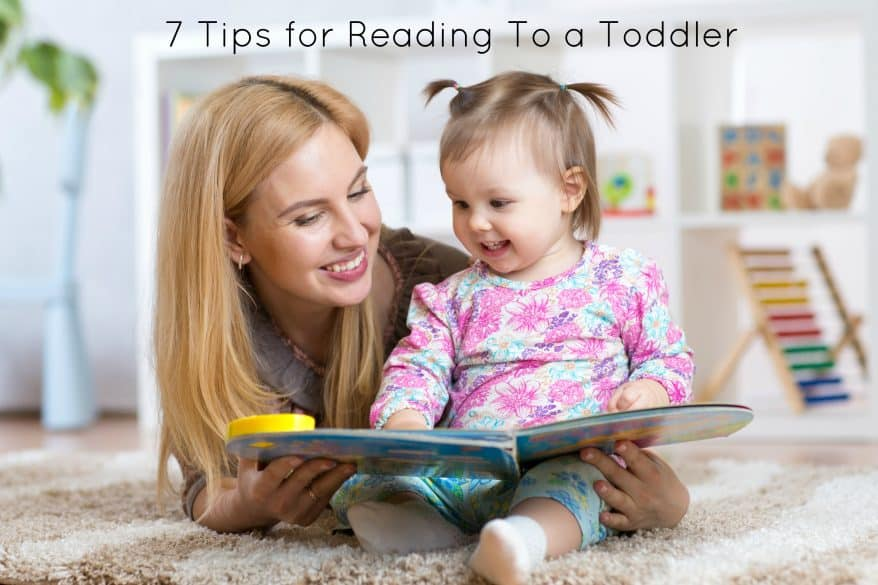7 Tips for reading to a toddler