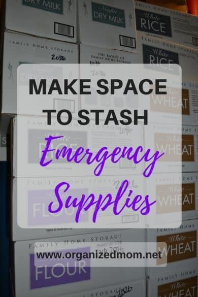 make-space-to-stash-emergency-supplies