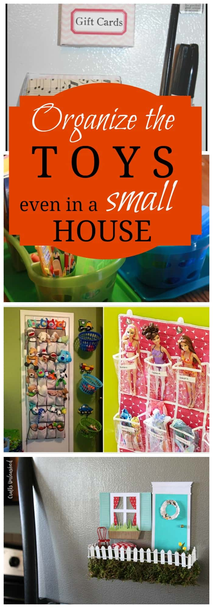 11 Tips For Keeping Kids Toys Organized: 11 Solutions To Store Toys In Small Living Spaces