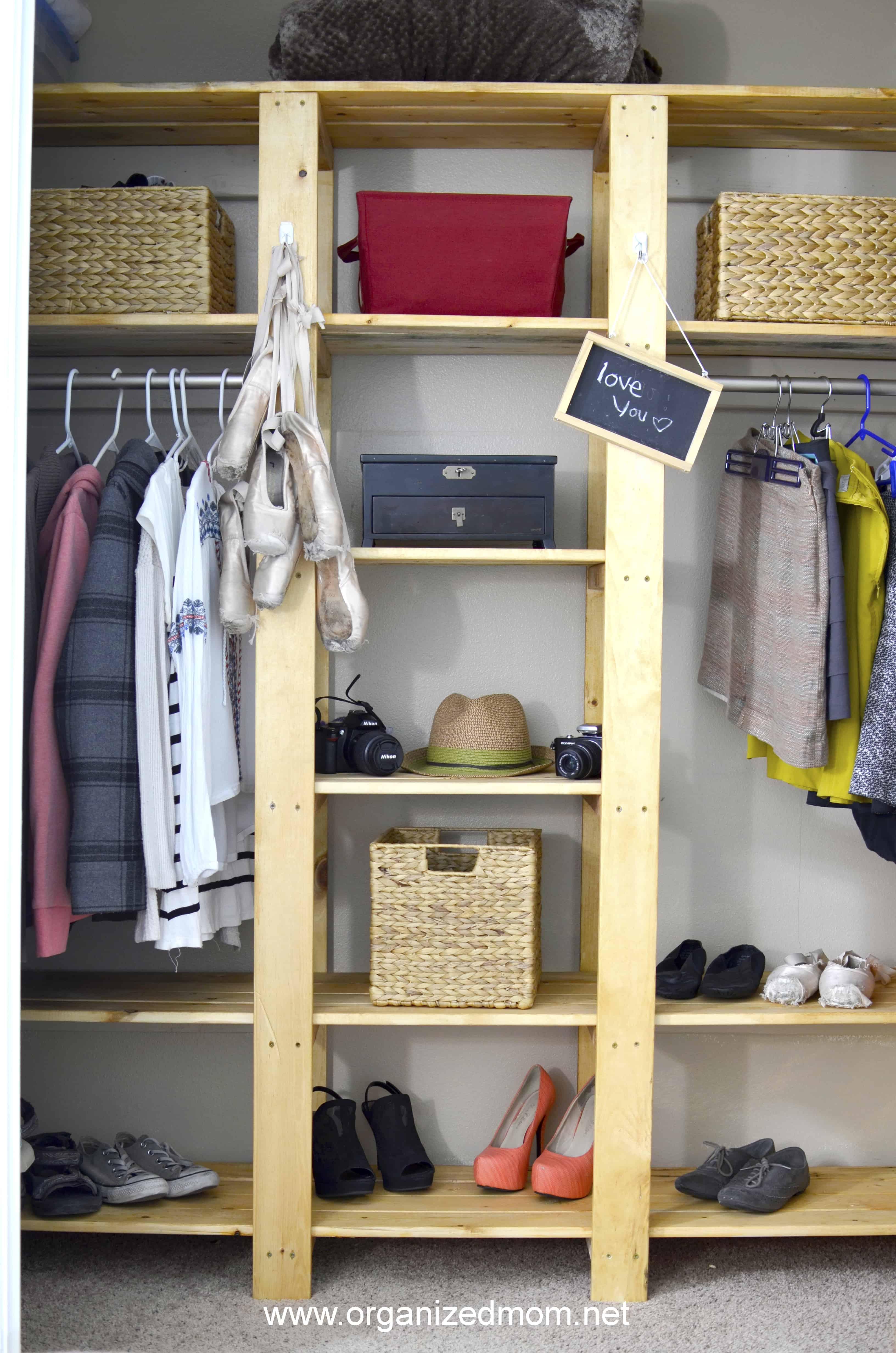 Diy Teen Closet Makeover The Organized Mom