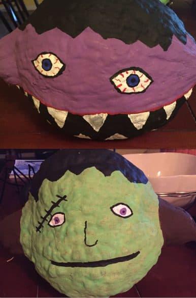 creative no-carve ideas for decorating pumpkins