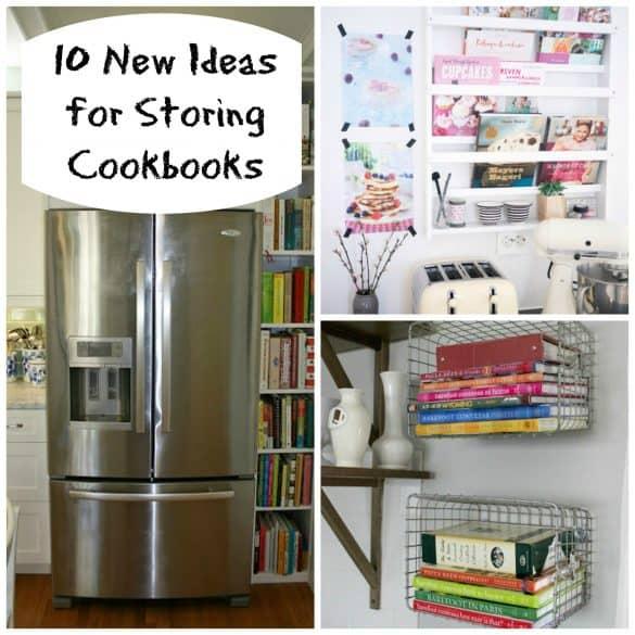 storing cookbooks
