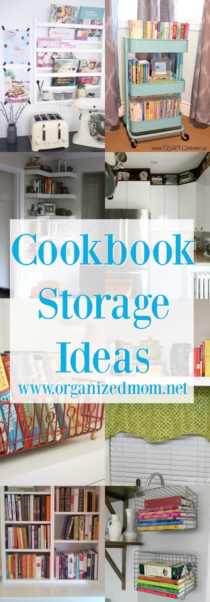 Home Decor Storing Cookbooks For Organization If You Don T Want To Get