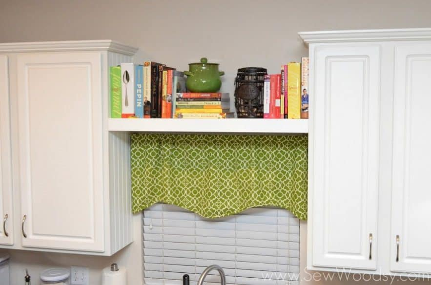 Use Up That E Above The Kitchen Sink Install A Floating Shelf Your And It For Cookbooks