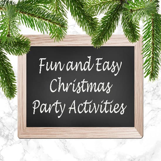 10 Easiest Christmas Party Activities