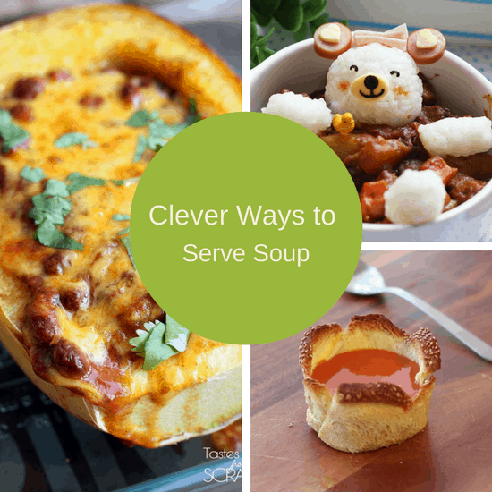 clever ways to serve soup