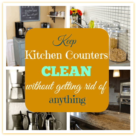 Keeping Kitchen Counters Clear