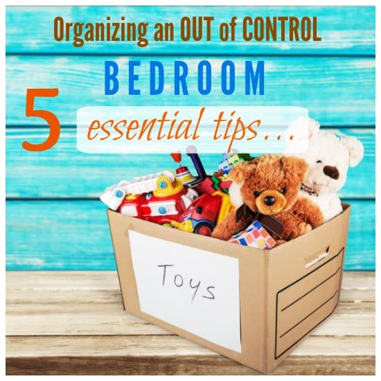 5 Tips to Get Your Kids Toy Room Under Control