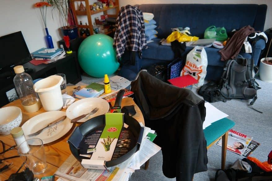 clutter organized