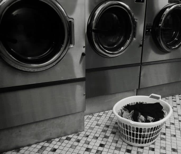 laundry organized
