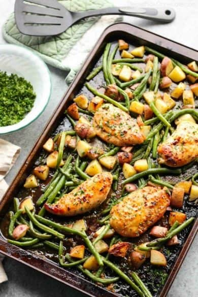 one-pan-honey-garlic-chicken-and-vegetables