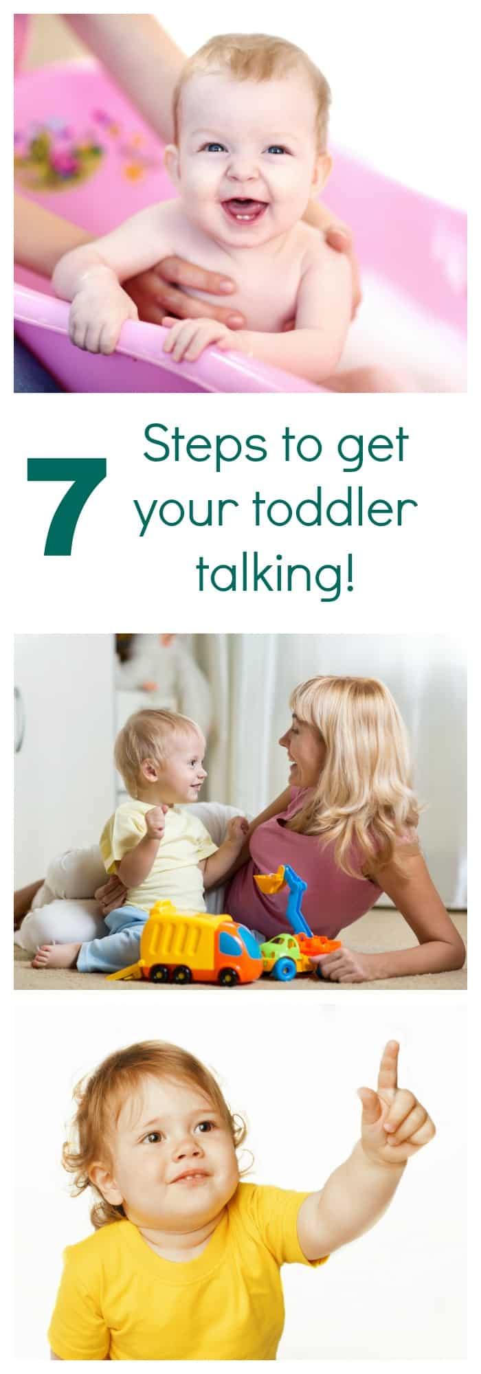7 steps to encourage toddlers to speak