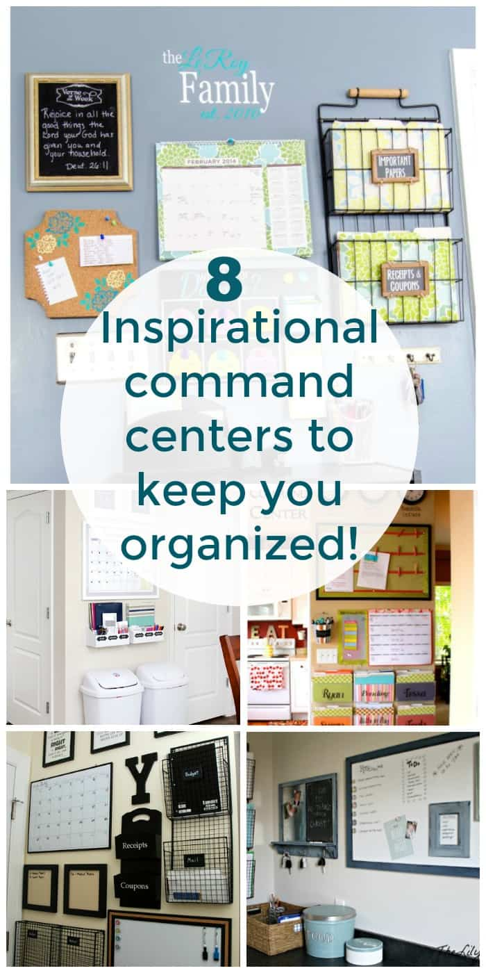 Family Command Center Ideas to Keep You Organized