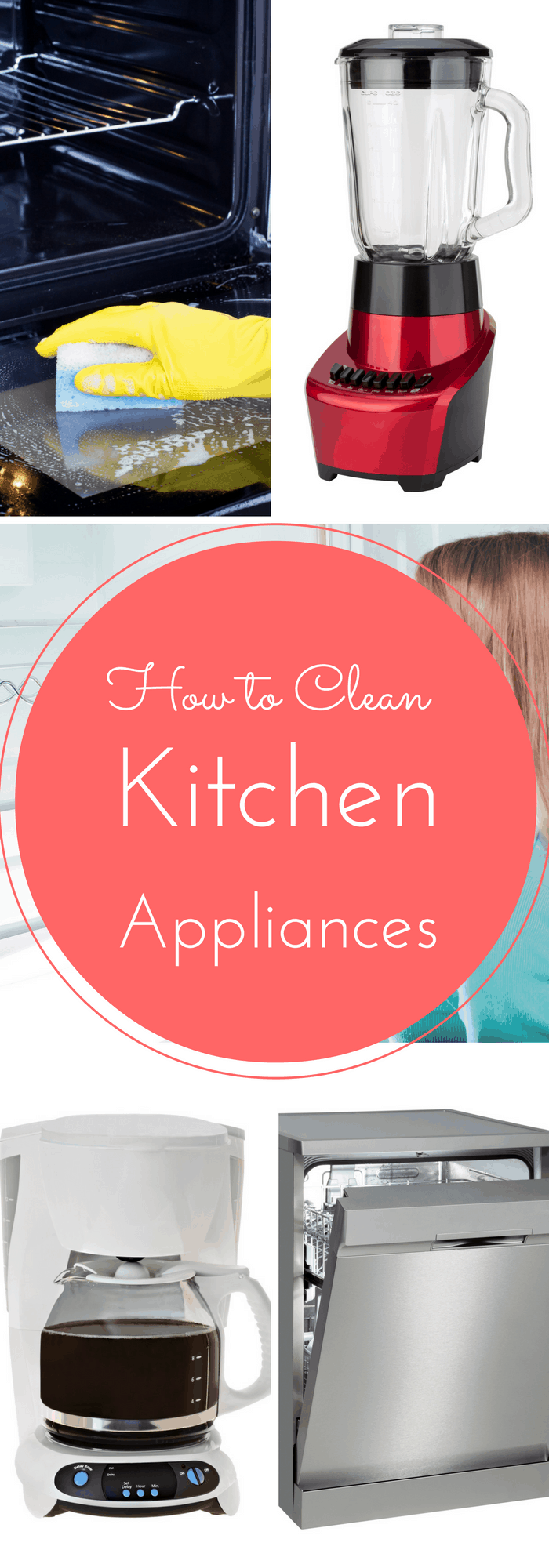 How to clean any kitchen appliance!