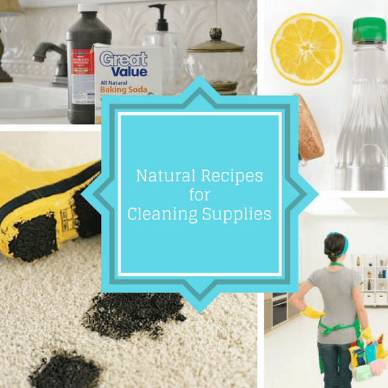 natural recipes for cleaning