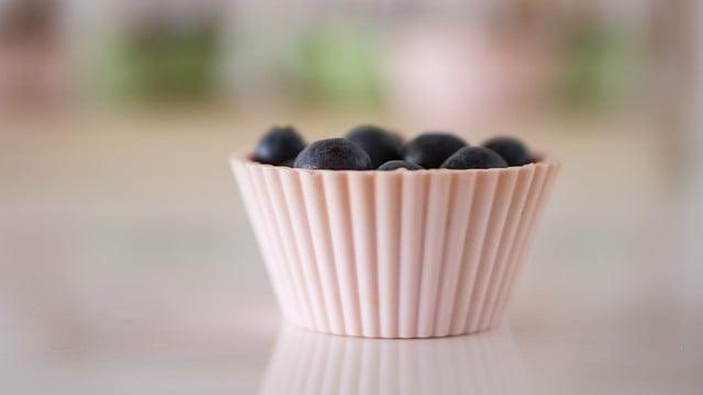 blueberry pancake muffins plant based
