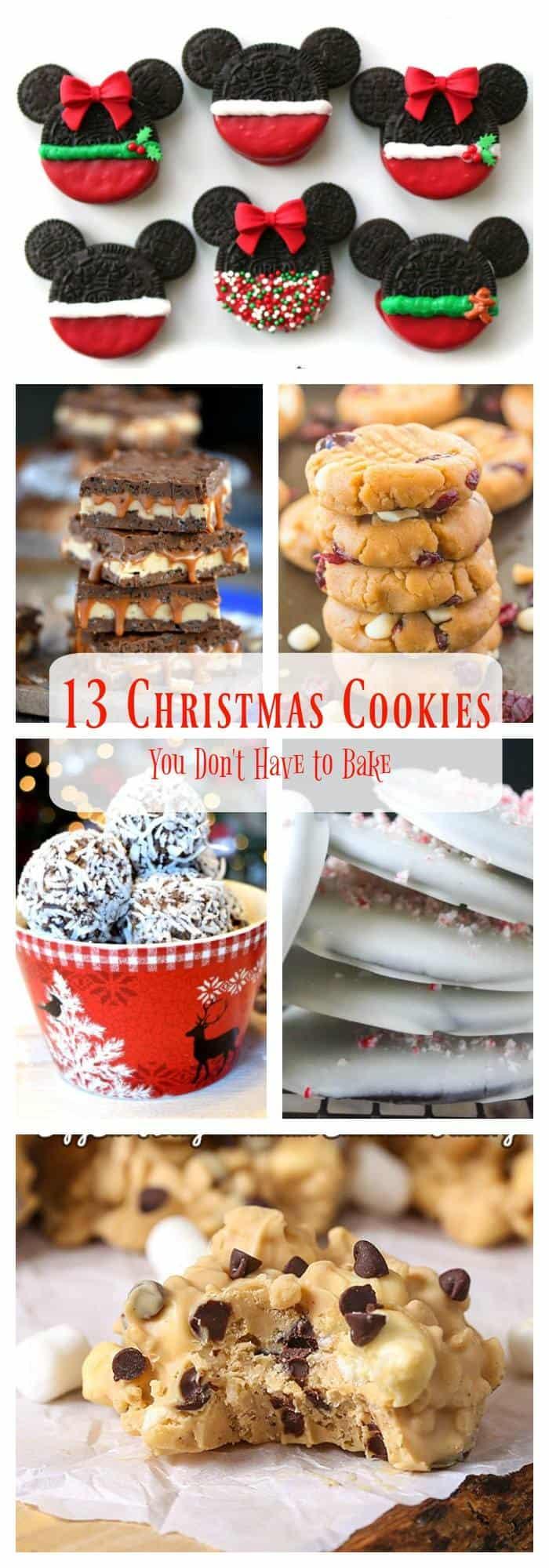 Best no bake Christmas cookies