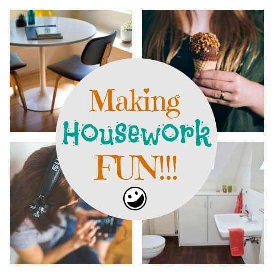 Make Housework Less Boring - 4 Simple Strategies