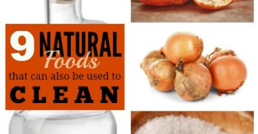 9 Natural Foods that Can Also Be Used to Clean!