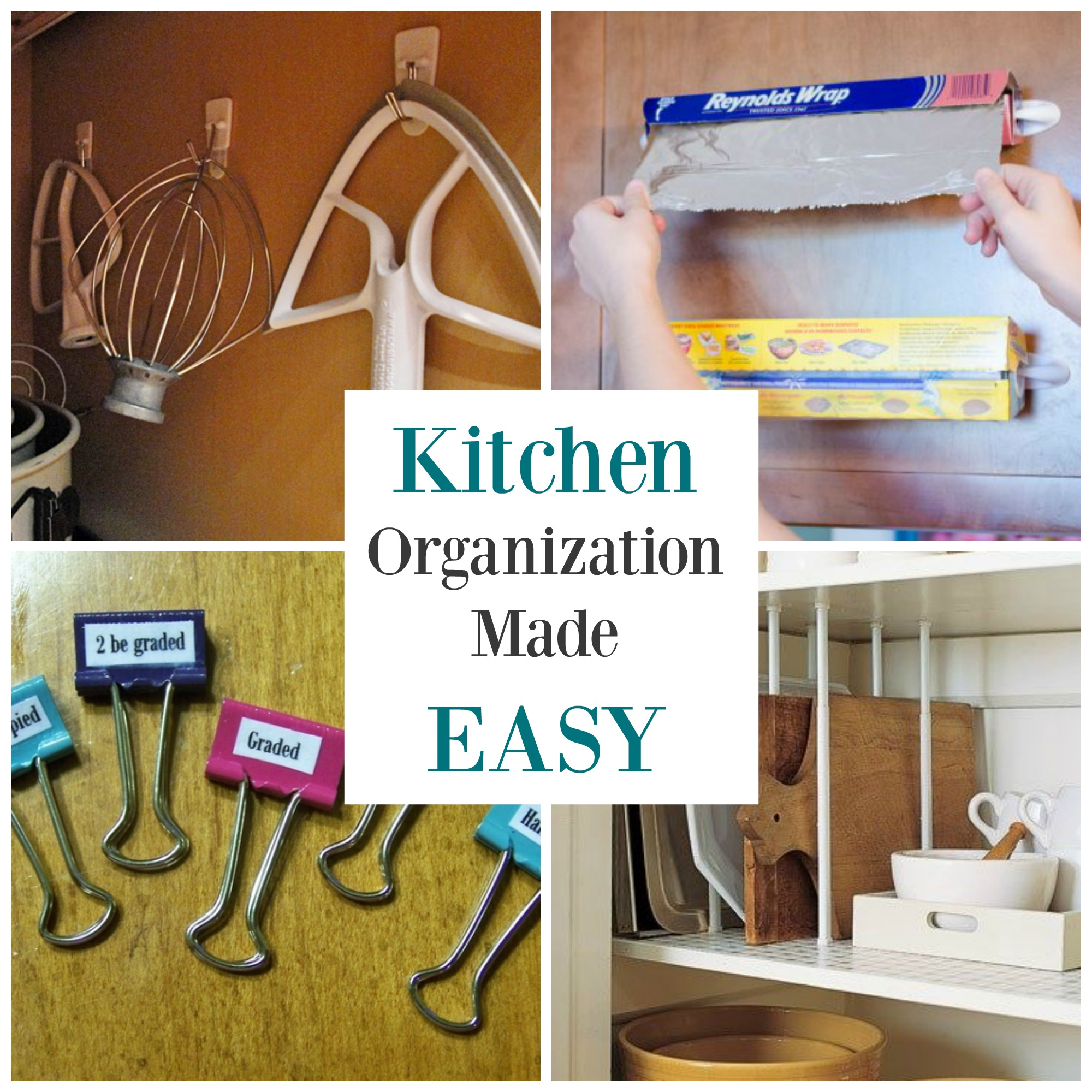 Kitchen Organization Doesn't Have To Be Hard With These 5