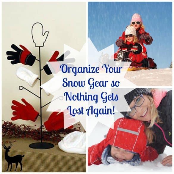 Home organization - organize your snow gear