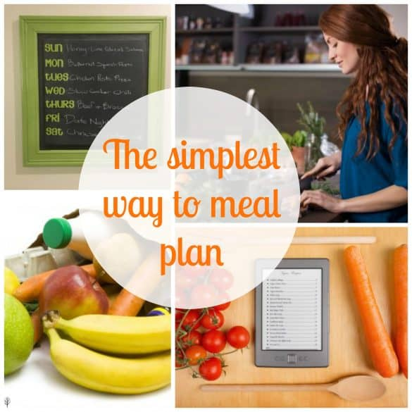 Food and recipes- the simplest way to meal plan