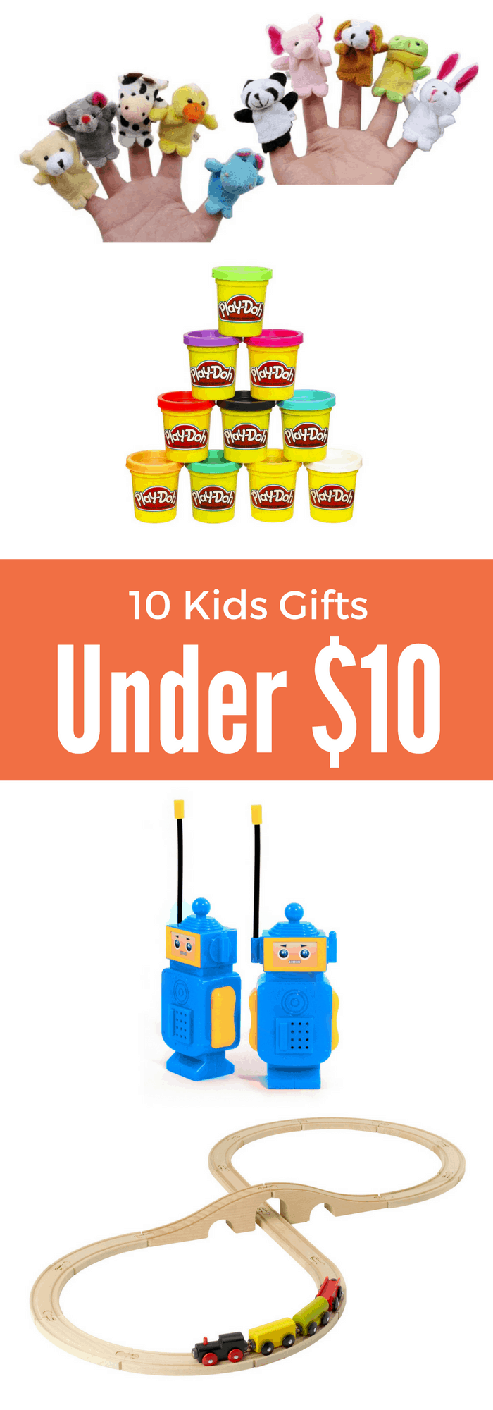 Shopping- finding gifts for kids that are under $10!