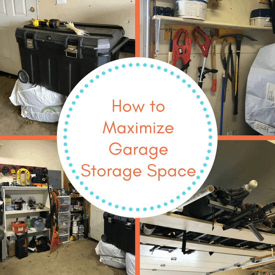 how to maximize storage space in a small bedroom how to maximize garage storage space the organized 21334