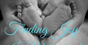 finding joy in motherhood