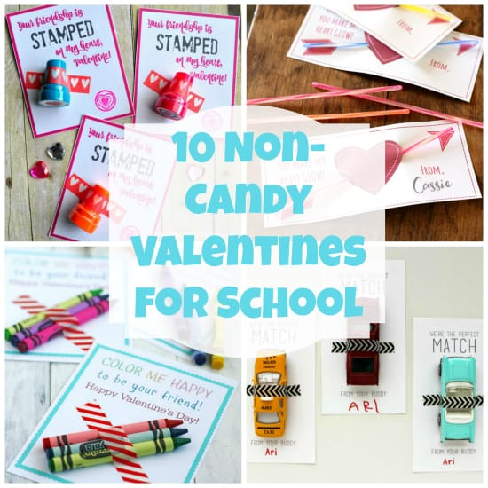 10 Non Candy Valentines for school