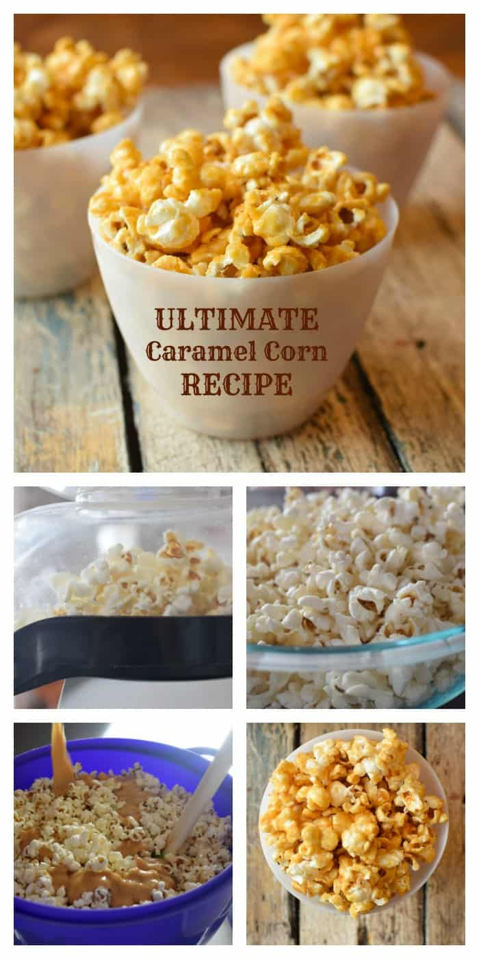 Food and drink- the best caramel corn recipe for crunchy caramel corn