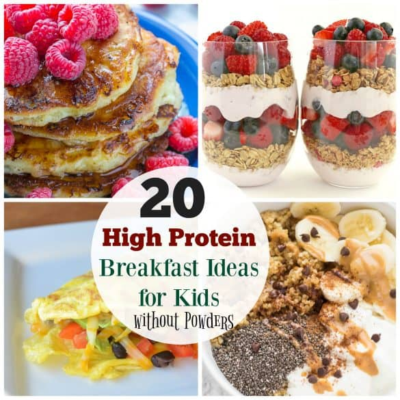 20 High Protein Breakfast Ideas For Kids The Organized Mom