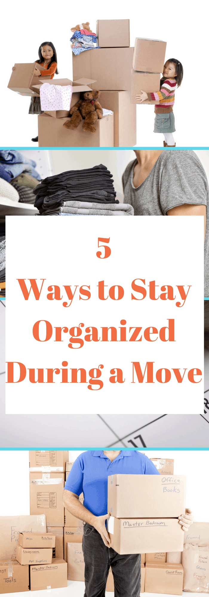 Moving soon? These are great ideas to do it efficiently and stay organized!