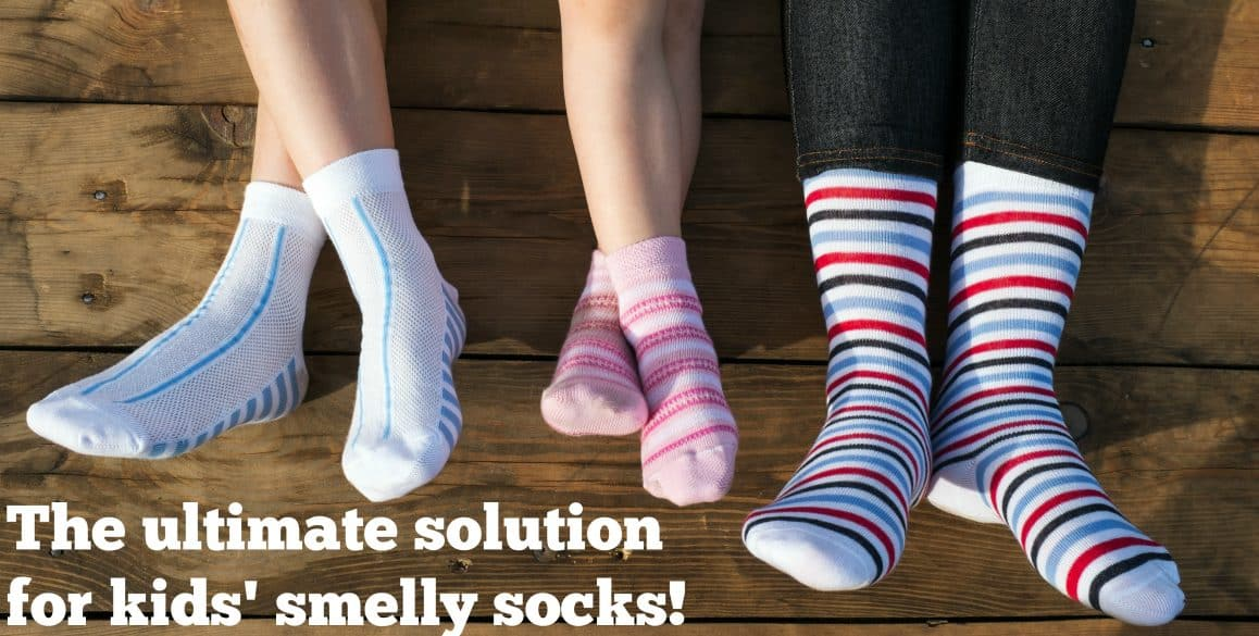 Dirty socks smelling