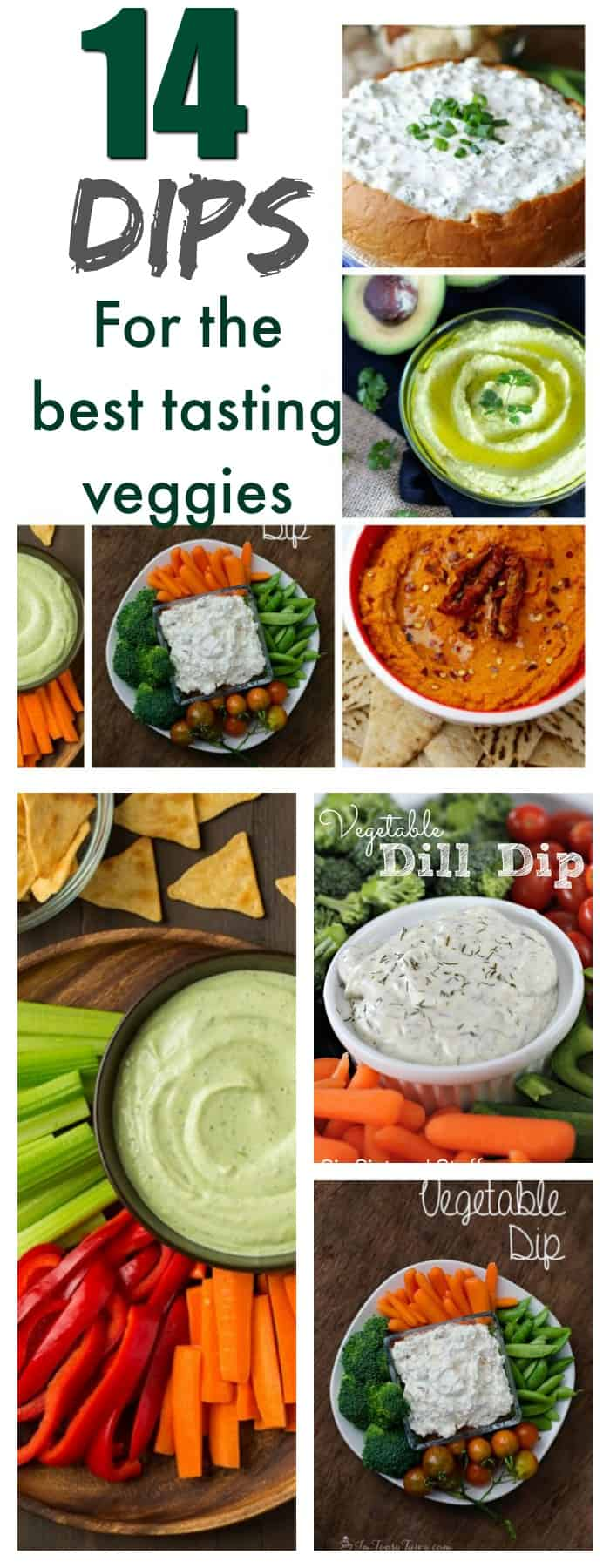 food and drink- 14 dips for the best tasting vegetables even your pickiest eater will eat
