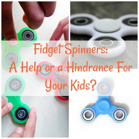 Fidget spinner does your kid need one