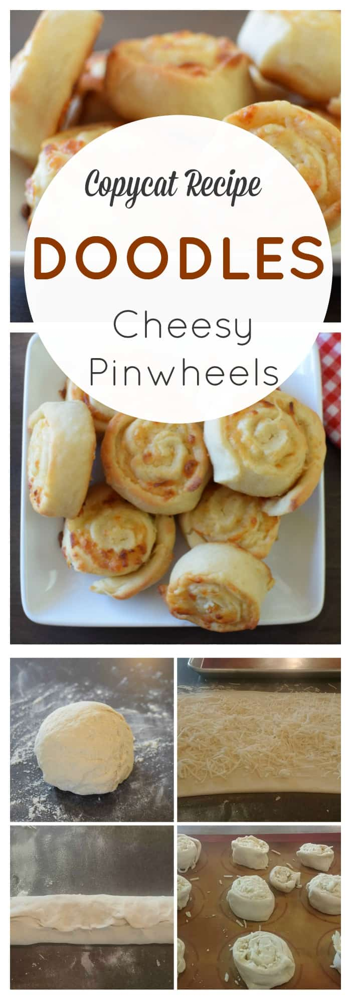 Recipes and food cheesy pinwheels doodles copycat recipe