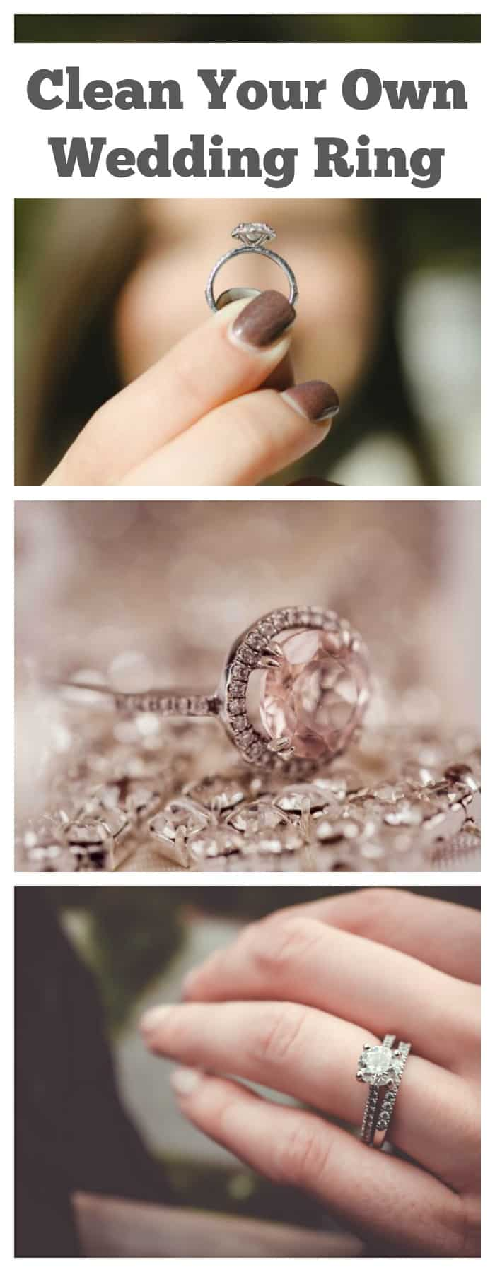 clean your own wedding ring